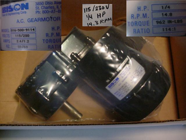 C H Surplus Dc Motors
